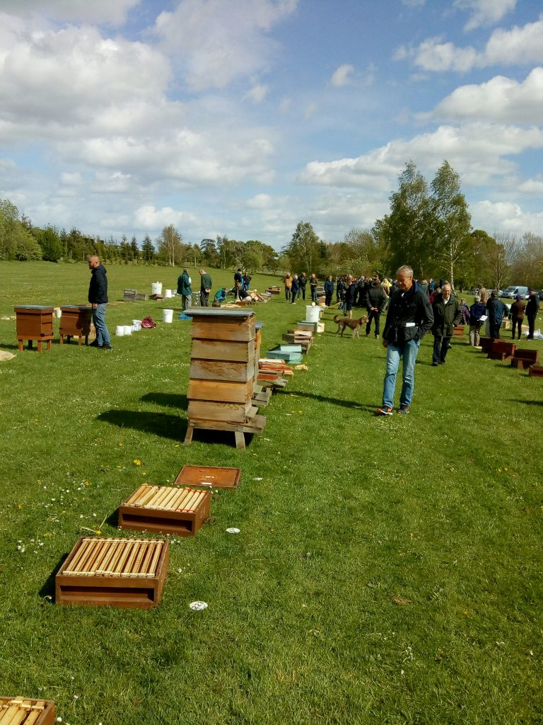 West Sussex Bee market & Auction 27th april report.